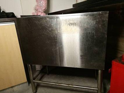 Stainless steel Ice Box (ice chest)