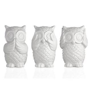 Clearance Sale! 3 Wise Owls