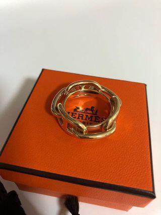 $1 Hermes scarf ring