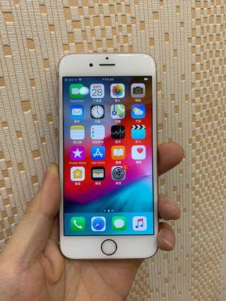 🚚 iPhone6S 64G(4.7吋)二手 玫瑰金