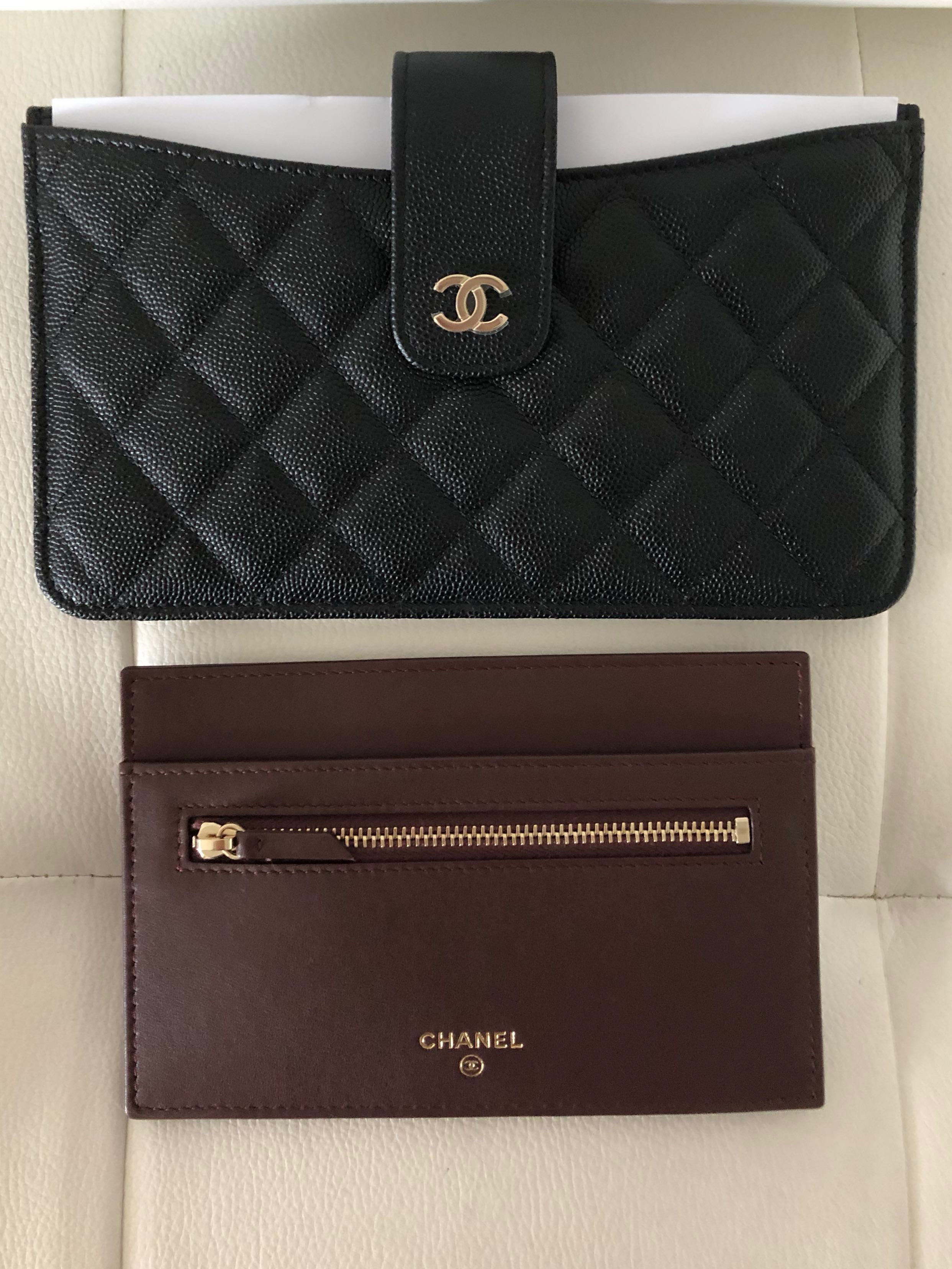 5e65fa2870dc 19C Chanel Pouch/Wallet/Travel Pouch, Luxury, Bags & Wallets, Wallets on  Carousell