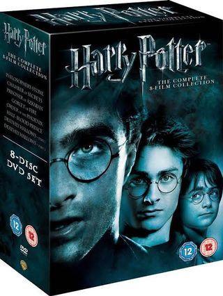 Harry Potter DVDS! The Complete Set!