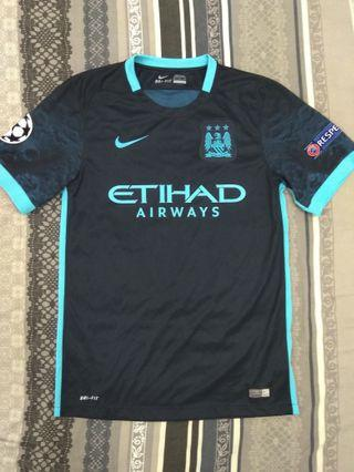 AUTHENTIC MANCHESTER CITY AWAY JERSEY 2016