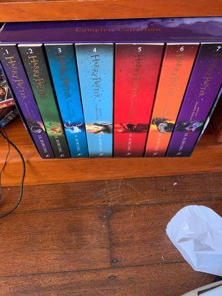 Harry Potter book series!