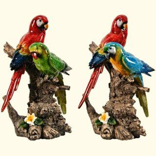 Sale! Parrot / Macaw Display / Statue