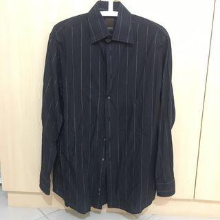 Sales ✨Original Raoul Black Shirt with Silver Stripes