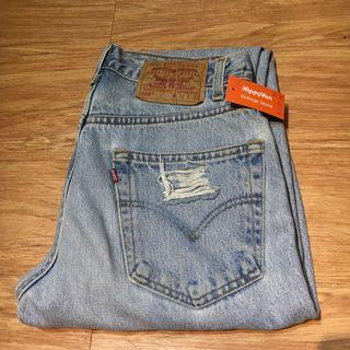 🚚 Levi's 505刷破牛仔長褲