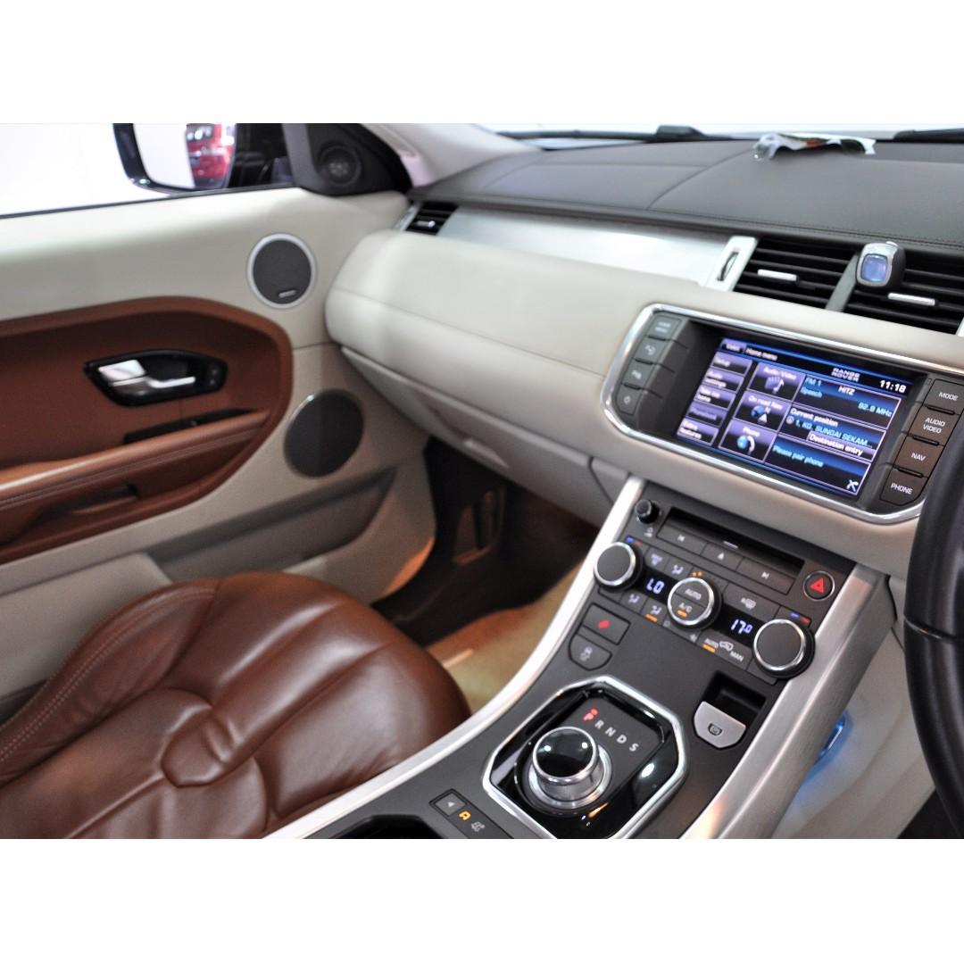 2013 Land Rover Range Rover Evoque 2.0 Si4 Dynamic SUV