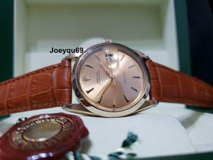 Cheapest GOLD Rolex !  ROLEX Oyster Precision Date 6694 Vintage 34mm