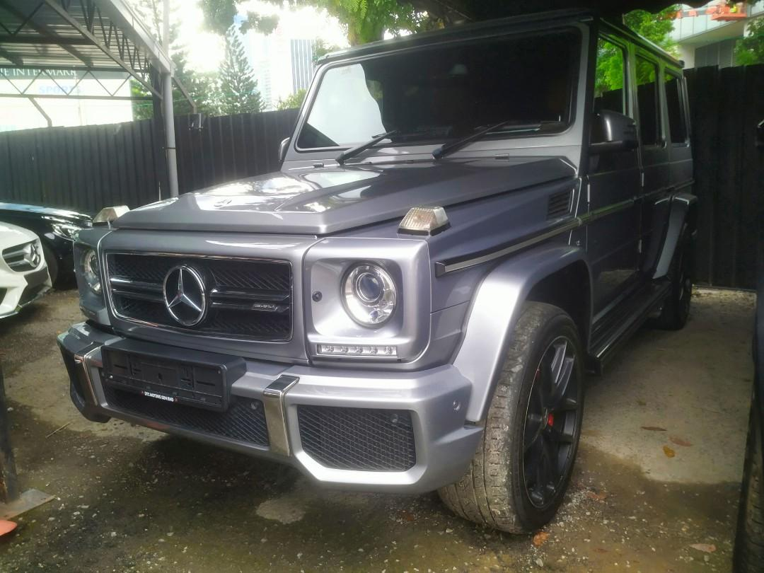 2016 Mercedes-Benz G63 AMG  The ultimate automotive