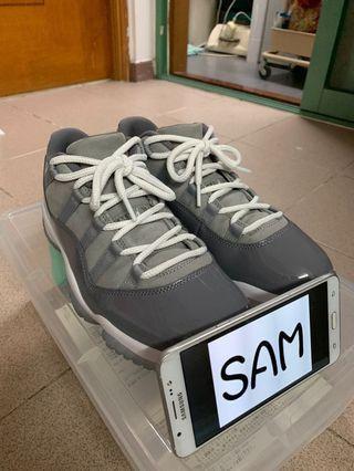 Nike Air Jordan AJ 11 Retro Low Cool Grey US9.5