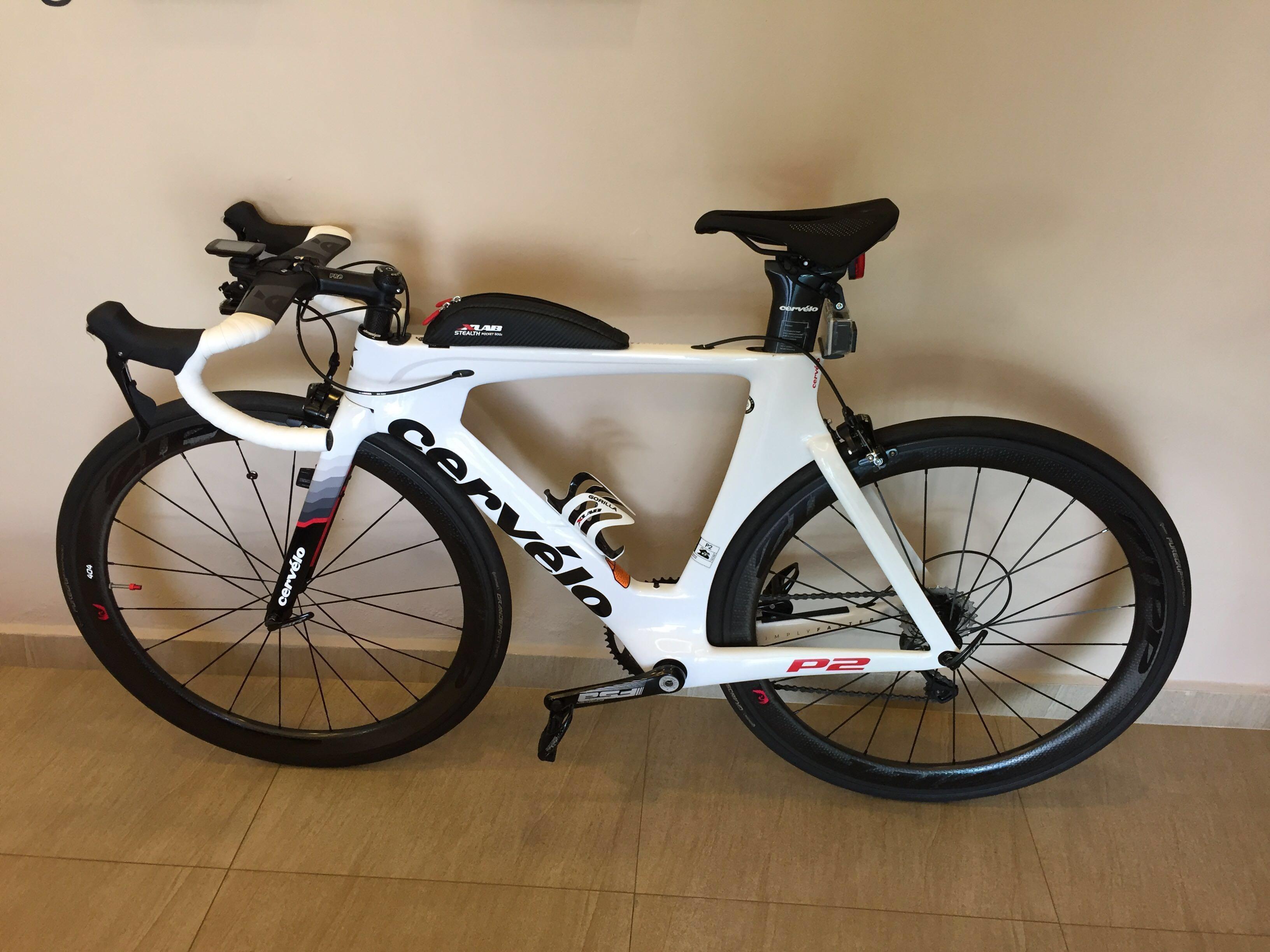 2017 Cervelo P2 TT / Road Bike Setup