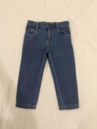 Soft Denim Long Pants