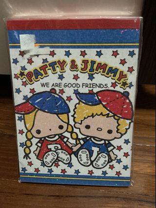 Patty and Jimmy Memo紙