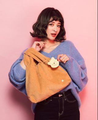 🚚 Grace Gift Pooh Handbag with Bag Charm