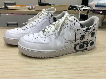 Nike air force 1 supreme cdg