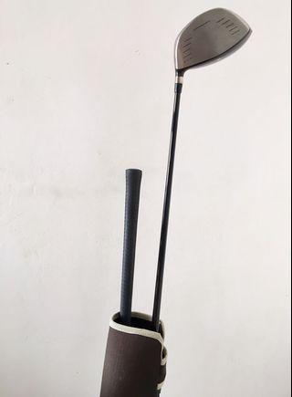 Golf bag with 1 iron and one driver - very rarely usef