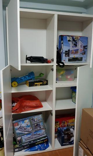 IKEA 6-doors cabinet, tic tac opening system