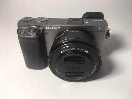 Kamera Mirrorless Sony A6000
