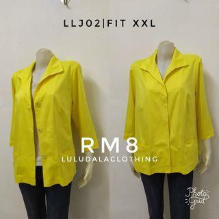 Ladies Yellow Jacket