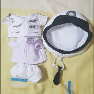 20CM MILITARY DOLL CLOTHES (BTS / GENERAL)