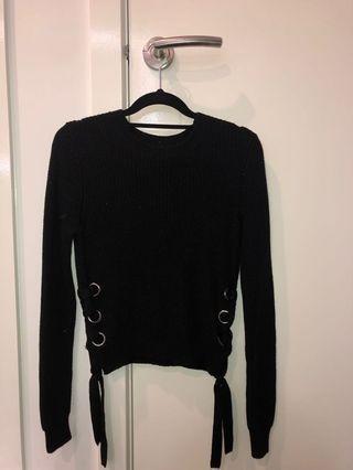 Bardot knit jumper