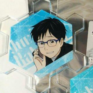 冰上的尤里yuri on ice 亞克力杯墊 勇利
