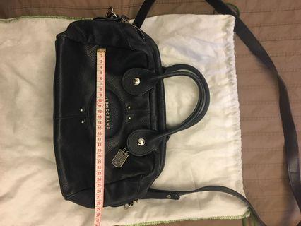 Longchamp qu'André navy bag
