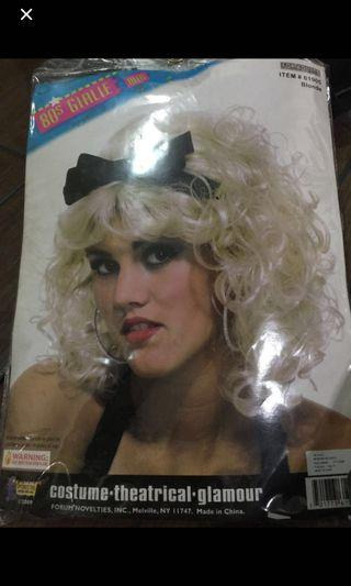 80s Madonna blonde wig