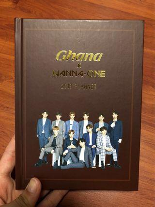 🚚 Wanna One Ghana 2018 Planner and Notebook