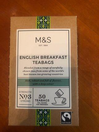 marks & spencer tea bag english breakfast tea