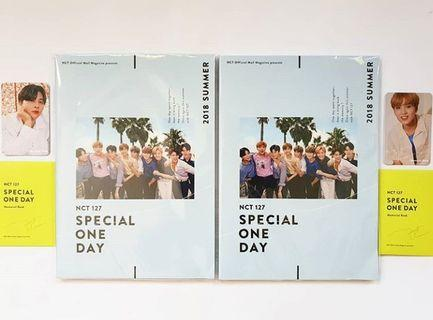 READYSTOCK : NCT127 MEMORIAL BOOK SPECIAL ONCE DAY