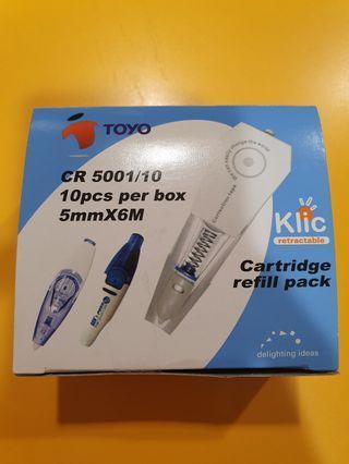 Toyo Correction Tape Refill