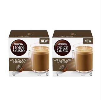 Nescafe Dolce Gusto Capsules :: Cafe Au Lait Intenso