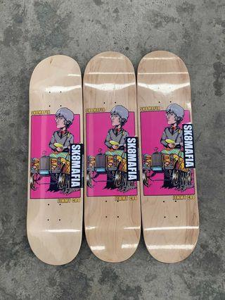 Sk8mafia x jimmy Cao skateboard deck