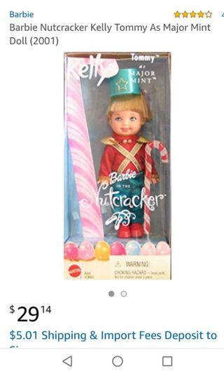 Barbie Nutcracker TOMMY as Major Mint