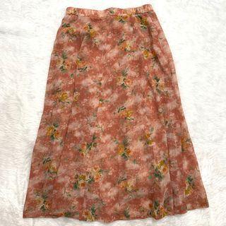 🚚 Batik floral Skirt