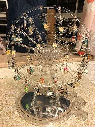 7-11 Sanrio 50週年 摩天輪 連全套40隻吊飾