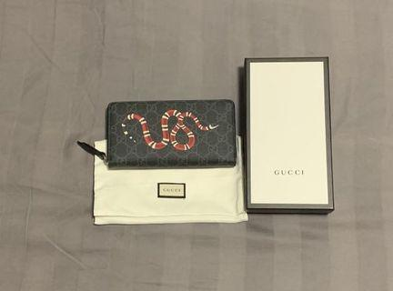 🚚 Gucci Snake Long Wallet