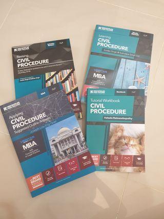 CLP civil procedure study material
