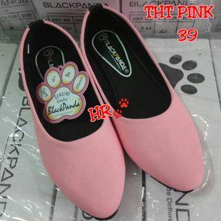 #BAPAU Pink flatshoes
