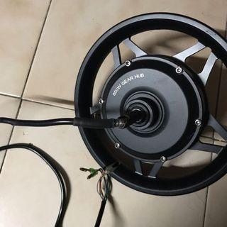 52v 500w gear motor