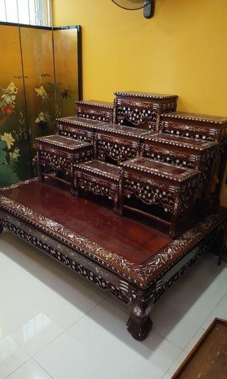 🚚 Thai Altar Table (Rosewood)