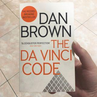 Dan brown the davinci code book buku novel impor import english inggris