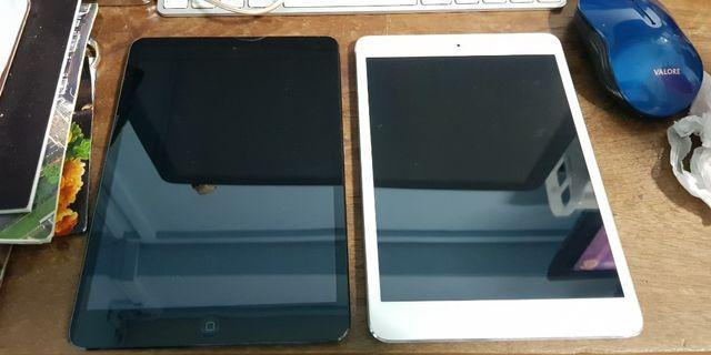 iPad mini cellular/wifi 64G x 2