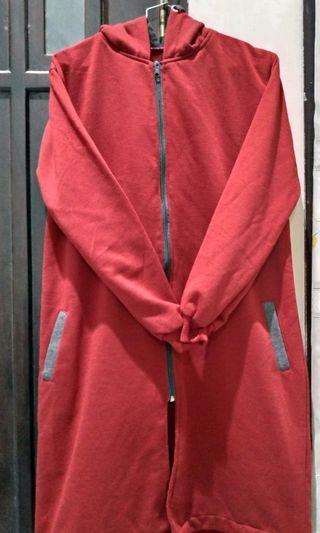 #BAPAU Jaket long zipper