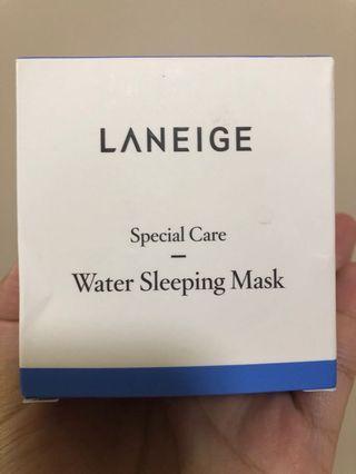 New Laneige Water Sleeping Mask 70ml 全新 睡眠面膜