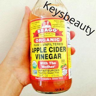 Bragg Apple Cider Vinegar Toner muka berjerawat