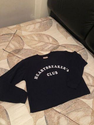 Pull&Bear 寬鬆衛衣 (細碼)
