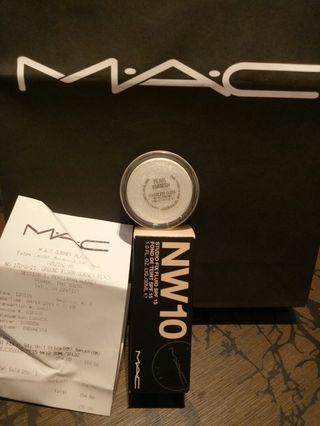 Mac fix fluid & cream glitter